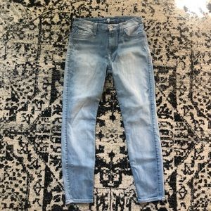 7 For All Mankind Jeans - 7 For All Mankind | The Mid Rise Cropper Skinny